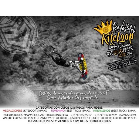 Inscripción reyes del kitesurf