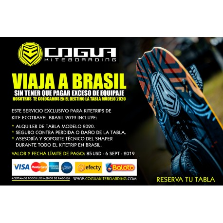 BoardRent KiteTrip Brasil KiteEcoTravel